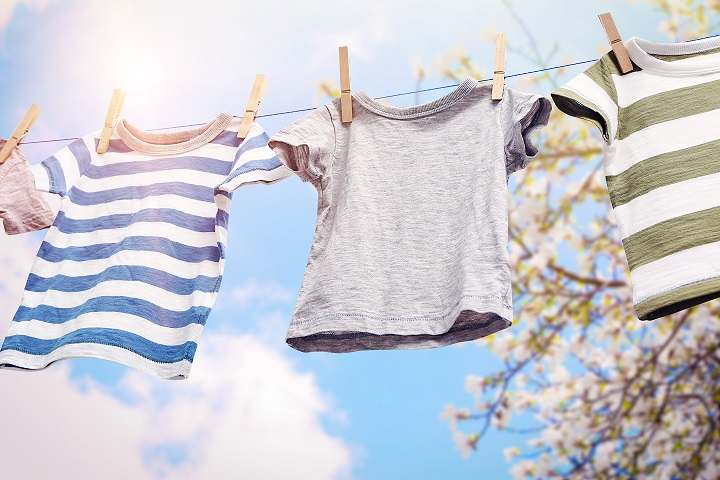 Dry your clothes outside